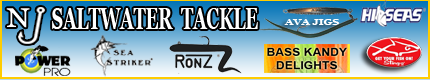 NJ Saltwater  Fishing Tackle