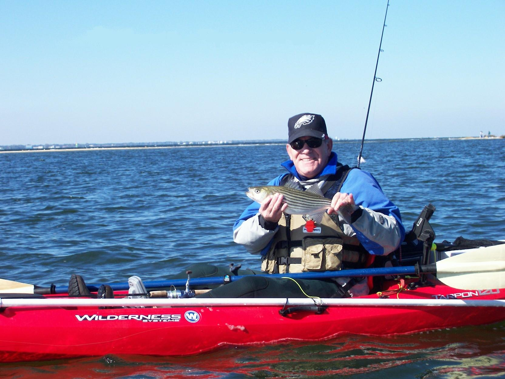 Kayak Fishing NJ