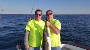 Hunter 2 and Scott G Striper