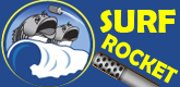 surf rocket logo